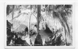 (RECTO / VERSO) CARLSBAD - THE CHAPEL OR DOME - CAVERN - N° 95  - CARTE PHOTO - CPA NON VOYAGEE - Etats-Unis