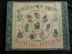 Ancien Jeu De Loto Des Fleurs Autour De Mon Jardin N°270 Début XX ème - Giocattoli Antichi
