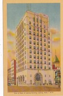 Michigan Lansing Bank Of Lansing Building Dexter Press