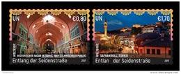 United Nations (Vienna) 2017 Mih. 985/86 World Heritage. Great Silk Way (I). Iran And Turkey MNH ** - Unused Stamps