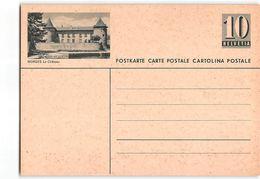 15535 HELVETIA POSTCARD  MORGES - Interi Postali