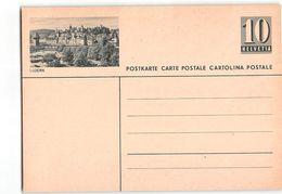 15536 HELVETIA  POSTCARD LUZERN - Interi Postali