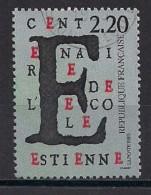 YT N° 2563 - Oblitéré - 100e Ecole Estienne - Frankreich