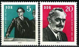 DDR - Michel 893 / 894 Einzeln - ** Postfrisch (C) - 5-20Pf  Dimitrow - [6] Oost-Duitsland