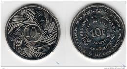 Burundi 10 Francs 2011 UNC Km#21 - Burundi