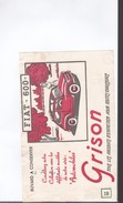 1 Buvard   :      Grison      Fiat 600 - Transport