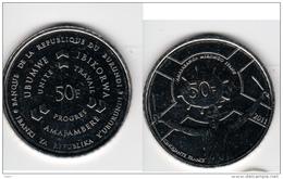 Burundi 50 Francs 2011 UNC Km#22 - Burundi