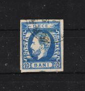 1871 - Carol Avec Sa Barbe  Mi No 29 I - 1858-1880 Moldavie & Principauté