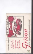 1 Buvard   :      Grison      Fiat 600 - Transports
