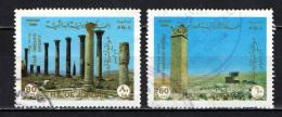 GIORDANIA - 1988 - UMM AL-RASAS E UMM QAIS - SITI ARCHEOLOGICI - USATI - Giordania