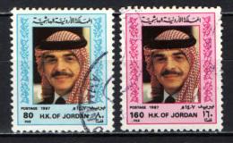 GIORDANIA - 1987 - RE HUSSEIN DI GIORDANIA - USATI - Giordania