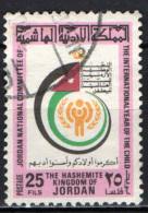 GIORDANIA - 1979 - ANNO INTERNAZIONALE DEL FANCIULLO - USATO - Giordania