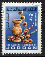 GIORDANIA - 1978 - VASO E GIOIELLI  - USATO - Giordania