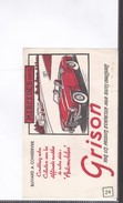 1 Buvard   :      Grison     Mercedes  190 Sl - Transports