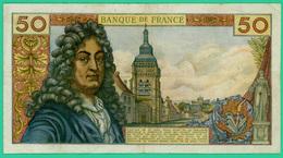 50 Francs Racine - France - N° 22128/T.185 - E.5-11-1971.E. - TTB - - 1962-1997 ''Francs''