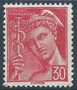 FRANCE - YT N°412 - 30 C. Rouge - Type Mercure - Neuf** - TTB Etat - 1938-42 Mercure