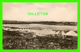 SEAFORD, SUSSEX, UK -  VIEW OF CAMP & LAKE -PUB. BY COMMERCIAL PHOTOGRAPHIC CO - - Angleterre