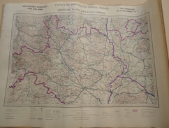 Carte Archéologique De La Gaule Romaine A. Blanchet - Fascicule VII - Département Du Vaucluse - 1939 - Cartes