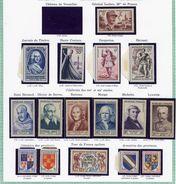 France Année 1953 Neuve ** Complète : N° 940 Au 967 - Cote 197 Euros - Superbe Qualité - Frankrijk