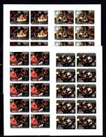 Burundi 2011 Art Christmas MNH 4KB(10) Imperf. -(V-42) - Kunst