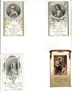 4 Mages Religieuses - Souvenir De Ma Première Communion - Imágenes Religiosas