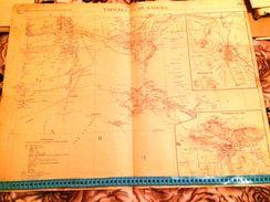 CARTE GEOGRAPHIQUE COLONIALE-TAFILELT-OUAD SAOURA( MAROC)1904 - Carte Geographique