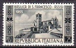 1955 - SAN FRANCESCO D'ASSISI - Nuovo - 1946-60: Nuovi