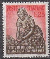1955 - AGRICOLTURA - Nuovo - 1946-60: Nuovi