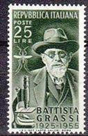 1955 - BATTISTA GRASSI - Nuovo - 1946-60: Nuovi