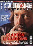 Revue - GUITARE ET CLAVIERS - N° 155 - An.1994 - En Couv. - ERIC CLAPTON - - Musique