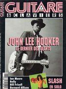Revue - GUITARE ET CLAVIERS - N° 160 - An.1995 - En Couv. - JOHN LEE HOOKER- - Musique