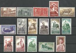 TP D'ESPAGNE N° 939/41 + 942 + 943/54  NEUFS SANS CHARNIERE - 1931-Aujourd'hui: II. République - ....Juan Carlos I