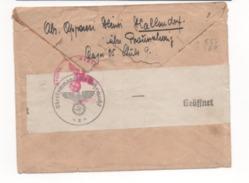 HITLER  10 Et 15  +  Bandeau Oberkommando Der Wehrmacht - Lettres & Documents