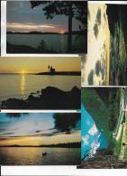 ENVIRON 100 CARTES DU CANADA - Cartes Postales