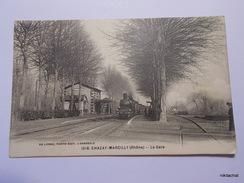 CHAZAY MARCILLY-La Gare-Train - Otros Municipios