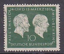 Emil Von Behring Germany BRD 197 Gestempelt Used - Gebruikt