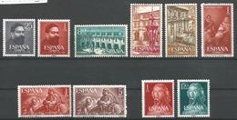 TP D'ESPAGNE N° 997/98 + 999/1001 + 1003/04 +1005/06  NEUFS SANS CHARNIERE - 1931-Aujourd'hui: II. République - ....Juan Carlos I
