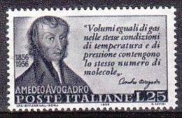 1956 - Avogadro - Nuovo - 1946-60: Nuovi