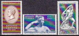 1957 - Canova - Nuovo - 1946-60: Nuovi