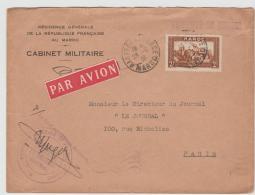 FAF010 / Militär  Kabinet Für Marokko - Briefe U. Dokumente