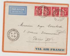 Lib004 /  LIBANON - Brief, Militärpost Aus Beyrouth 1936 - Libanon