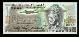 # # # Banknote Guatemala 0,5 Quetzal 1981 UNC # # # - Guatemala