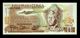# # # Banknote Guatemala 0,5 Quetzal 1983 UNC # # # - Guatemala