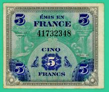 5 Francs  Drapeau - France - Série 1944 - N° 41732348 - TTB - - 1944 Drapeau/France