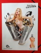 J-P Gaultier - Publicité Classique - Publicités Parfum(journaux)