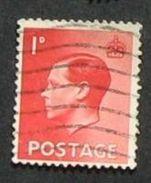 Gran Bretagna  1936-37 King Edward VIII 1d Used - Usati