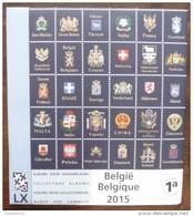België / Belgique / Belgium - Davo LX  - Suppl. 2015 - 1a - Nieuw / New/ Nouveaux - 291, B174/184, C35/36 - Pré-Imprimés