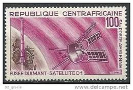 """Centrafrique Aerien YT 45 (PA 45) """" Satellite D1 """" 1966 Neuf** - Zentralafrik. Republik"""