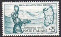1958 - FLUMENDOSA - Nuovo - 1946-60: Nuovi