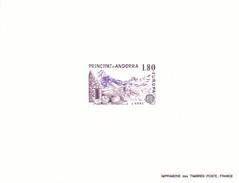 Andorra Francesa Nº 313 Al 314 En Pruebas - Unused Stamps